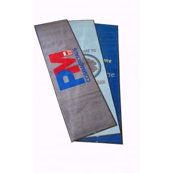 A Grade 10x3 Non Slip Machine Washable Logo Dirt Trapper Mats with Free Delivery