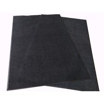 Dark Charcoal 8x5 OVERSIZED Non Slip Machine Washable Dirt Trapper Mat