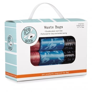 Dog Is Good Waste Bags Pack of 24