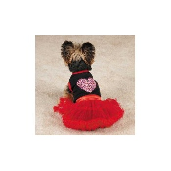 East Side Collection Heart Tutu Dress