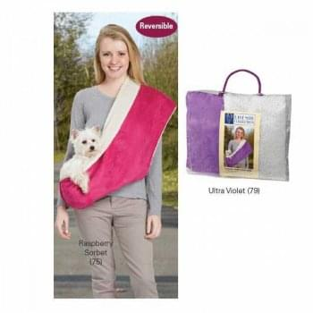 East Side Collection Reversible Sling Carrier - Pink or Purple