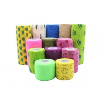 Elastic Bandage for Pet Dog, Cat, Horse Wound/Injury