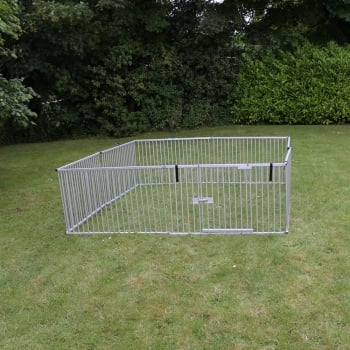 "Emperor 30"" High Ultralight Weight Aluminium 8 Panel Puppy Pen (X-Large WIDE)"