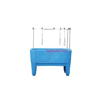 Emperor Blue Nautica Dog Grooming Bath inc. H-Frame