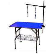 BLUE - Large Emperor PRO Dog Grooming Table - 38""