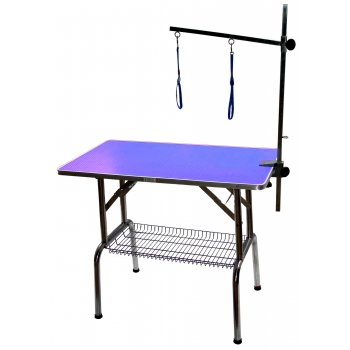 """Emperor Grooming Tables PURPLE - Large Emperor Dog Grooming Table - 38"""""""