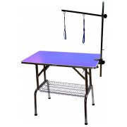 PURPLE - Large Emperor Dog Grooming Table - 38""