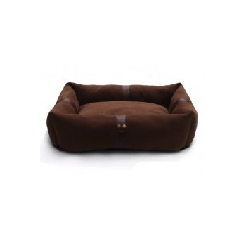 Emperor Luxury Soft Sided Snuggle Bed Dark Chocolate