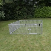 Ultra Light Weight Aluminium 8 Panel Puppy Pen XLArge