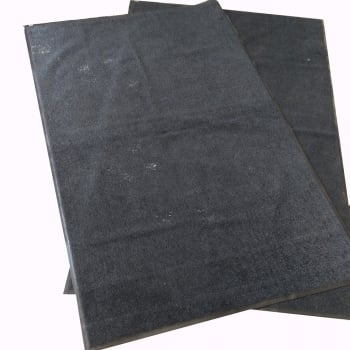 Introductory Offer 2 Dark Charcoal Mats OverSize (8ftx5ft) - C Grade