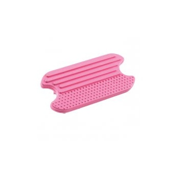 Master Grooming Tools MGT Rubber Grooming Brush pink