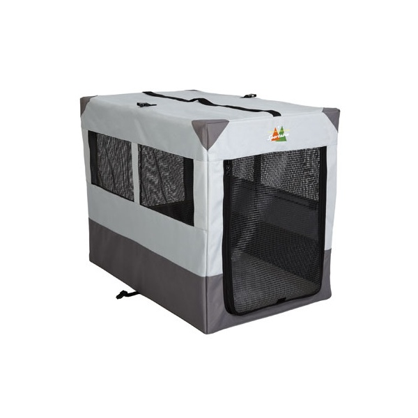 Midwest portable tent crate 42quot midwest from splendid for Portable travel dog crate