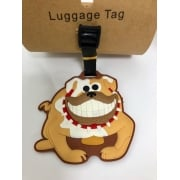 Novelty Bulldog Luggage Tag