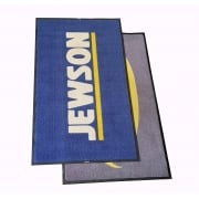 Pack of 2 5x3 Dirt Trapper Logo Mats