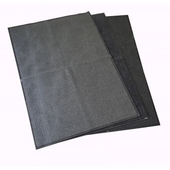 Pack of Three 6x4 Dirt Trapper Mats Kennel Grade