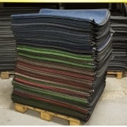 Pallet of Coloured 6x4 Dirt Trapper Mats