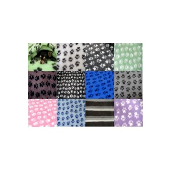 "Paw Print Fleece Bedding 30x40"" (75x100cm) 1300gm"