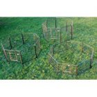 "24"" High Marquess 8 Panel Aztec Play Pen (Small)"