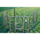 "32"" High Marquess 8 Panel Aztec Play Pen (Medium)"