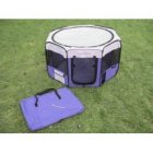 Small Pop Up Puppy Play Pen Purple & Lilac