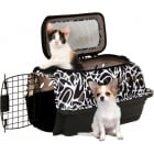 "19"" PetMate Carry Kennel with Strap for Small Dogs & Cats - Up to 10lbs"