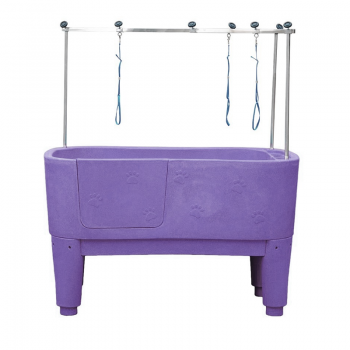 Emperor PURPLE Emperor Nautica Dog Grooming Bath inc. H-Frame