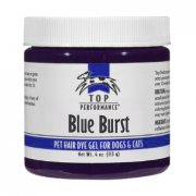 """Blue Burst"" Top Performance Hair Dye Gel"