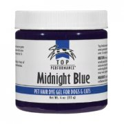 """Midnight Blue"" Top Performance Hair Dye Gel"