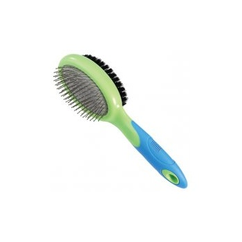 U Groom U-Groom Combi Boar Bristle & Pin Brush (Large)