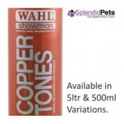 Wahl Showman Copper Tones Dog Shampoo