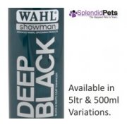 Wahl Showman Deep Black Dog Shampoo