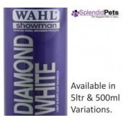 Wahl Showman Diamond White PRO Dog Shampoo
