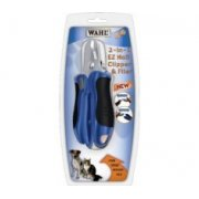 Wahl 2 in 1 EZ Nail Clipper and File