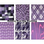 "XL Purple Rubber NonSlip Fleece Bedding 60x40"" (150x100cm) 1300gm"